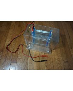 CBS Scientific DSG 125 02 Dual Slab Vertical Electrophoresis chamber with lid