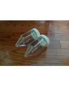 Nalgene 200ml Centrifuge Tubes PC polycarbonate screw bottle conical bottom